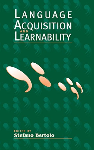 9780521641494: Language Acquisition and Learnability