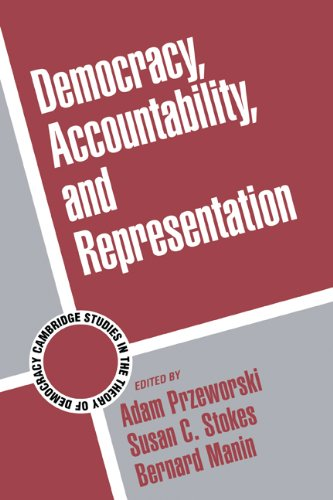 9780521641531: Democracy, Accountability, and Representation (Cambridge Studies in the Theory of Democracy)