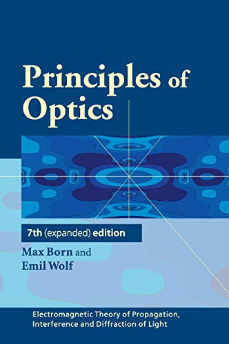 Principles of Optics 9780521642224 Principles of Optics is one of the classic science books of the twentieth century, and probably the most influential book in optics publ
