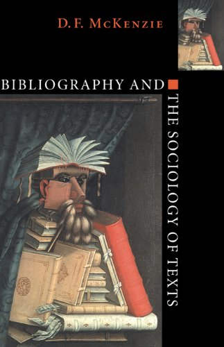9780521642583: Bibliography and the Sociology of Texts