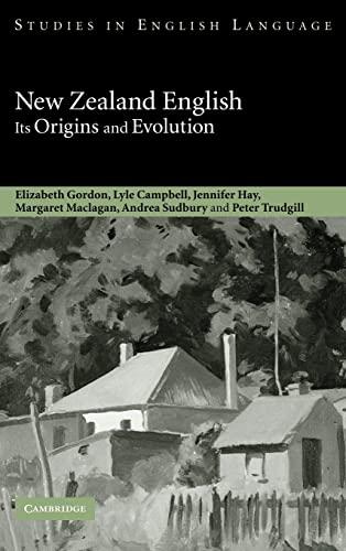 9780521642927: New Zealand English: Its Origins and Evolution (Studies in English Language)
