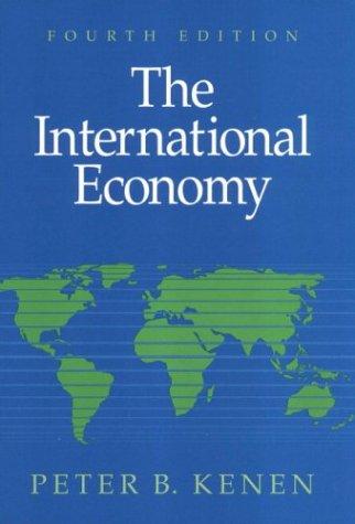 9780521643078: The International Economy