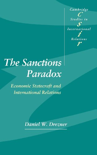 9780521643320: The Sanctions Paradox: Economic Statecraft and International Relations (Cambridge Studies in International Relations)