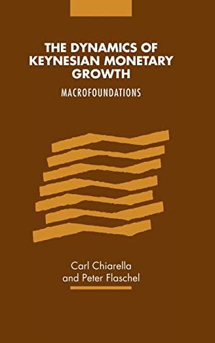 The Dynamics of Keynesian Monetary Growth : Macrofoundations: Carl Chiarella, Peter Flaschel