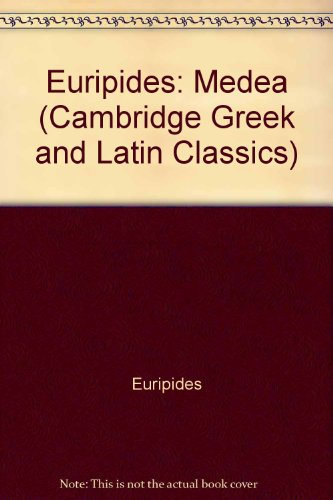 9780521643658: Euripides: Medea (Cambridge Greek and Latin Classics)