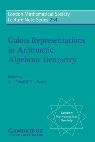 9780521644198: Galois Representations in Arithmetic Algebraic Geometry Paperback (London Mathematical Society Lecture Note Series)