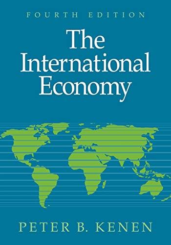9780521644358: The International Economy