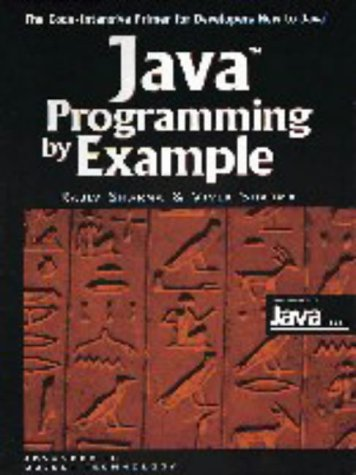 9780521644426: Java Programming by Example (SIGS: Advances in Object Technology)