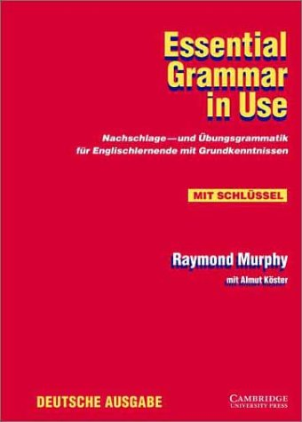 9780521645607: Essential Grammar in Use with Answers German edition