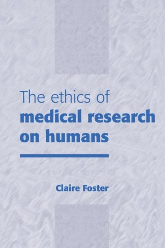 9780521645737: The Ethics of Medical Research on Humans