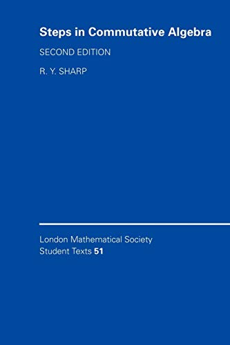 9780521646239: Steps in Commutative Algebra (London Mathematical Society Student Texts)