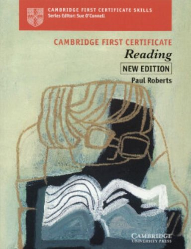 9780521646567: Cambridge First Certificate Reading Student's book (Cambridge First Certificate Skills)