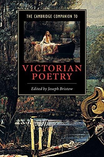 9780521646802: The Cambridge Companion to Victorian Poetry (Cambridge Companions to Literature)
