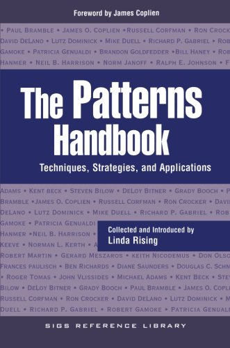 9780521648189: The Patterns Handbook: Techniques, Strategies, and Applications (SIGS Reference Library)