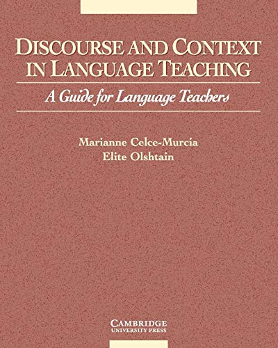 9780521648370: Discourse and Context in Language Teaching: A Guide for Language Teachers (Cambridge Language Teaching Library)