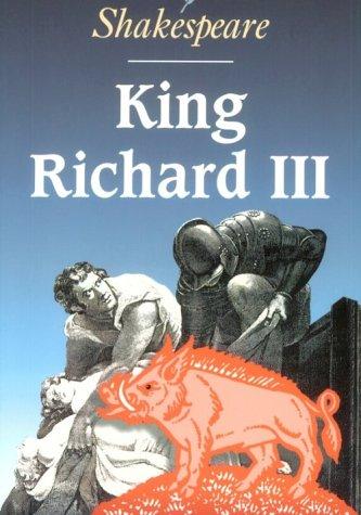 9780521648455: King Richard III (Cambridge School Shakespeare)