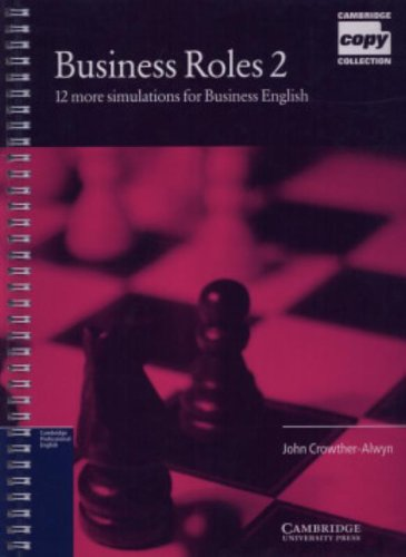 9780521648493: Business Roles 2 Copy masters: Simulations for Business English (Cambridge Copy Collection) (Bk. 2)