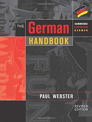 9780521648608: The German Handbook
