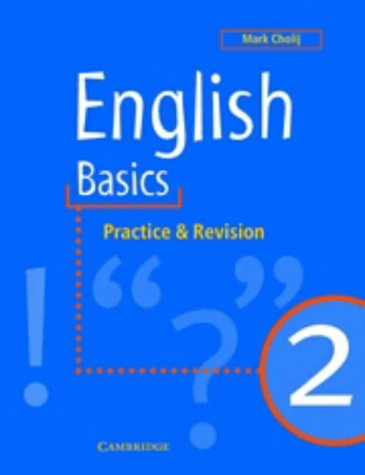 9780521648646: English Basics 2: Practice and Revision