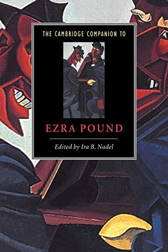 9780521649209: The Cambridge Companion to Ezra Pound Paperback (Cambridge Companions to Literature)