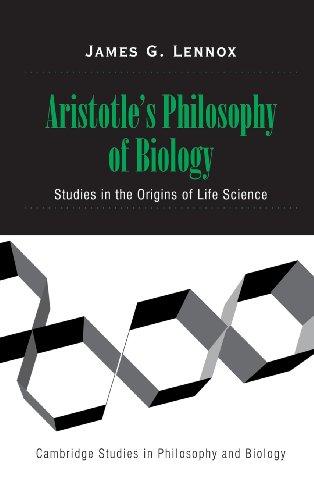 9780521650274: Aristotle's Philosophy of Biology: Studies in the Origins of Life Science (Cambridge Studies in Philosophy and Biology)