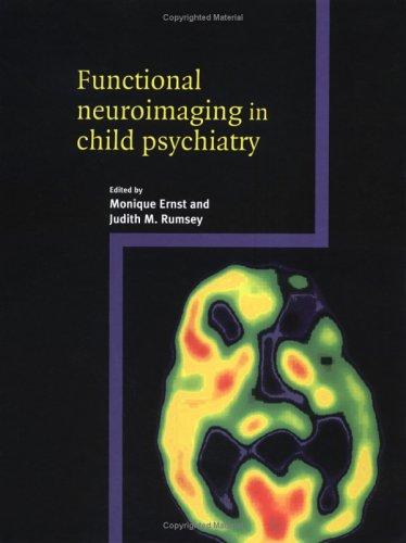 9780521650441: Functional Neuroimaging in Child Psychiatry