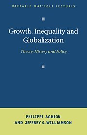 9780521650700: Growth, Inequality, and Globalization: Theory, History, and Policy (Raffaele Mattioli Lectures)