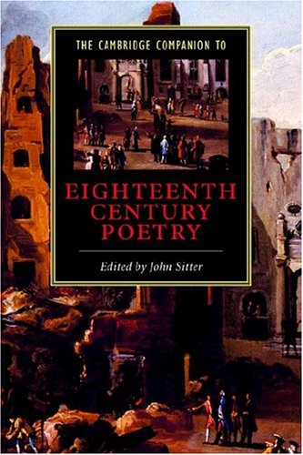 9780521650908: The Cambridge Companion to Eighteenth-Century Poetry (Cambridge Companions to Literature)