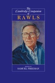 9780521651677: The Cambridge Companion to Rawls (Cambridge Companions to Philosophy)