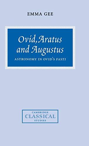 Ovid, Aratus and Augustus.: GEE, E.,