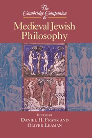 9780521652070: The Cambridge Companion to Medieval Jewish Philosophy Hardback (Cambridge Companions to Philosophy)