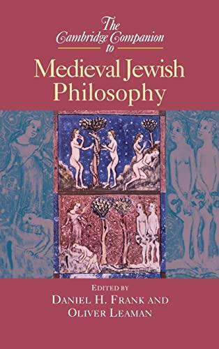 9780521652070: The Cambridge Companion to Medieval Jewish Philosophy (Cambridge Companions to Philosophy)
