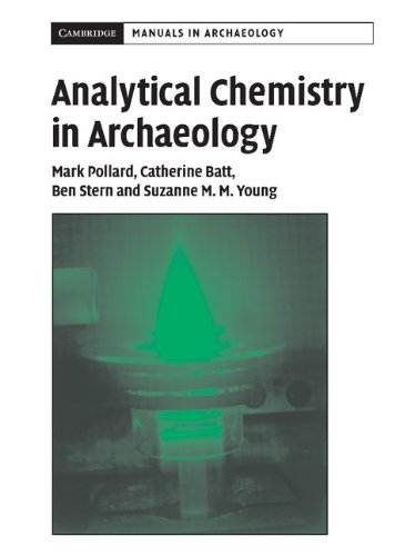 9780521652094: Analytical Chemistry in Archaeology (Cambridge Manuals in Archaeology)