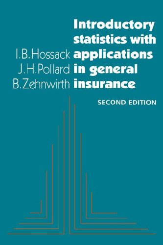 9780521652346: Introductory Statistics with Applications in General Insurance 2nd Edition Hardback