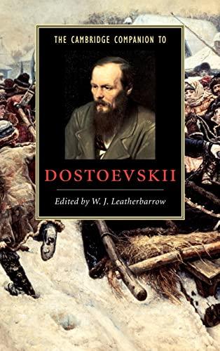9780521652537: The Cambridge Companion to Dostoevskii (Cambridge Companions to Literature)
