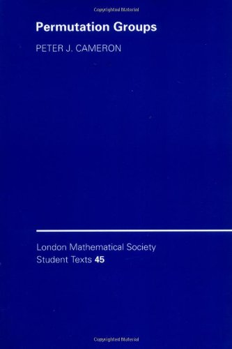 9780521653787: Permutation Groups Paperback (London Mathematical Society Student Texts)