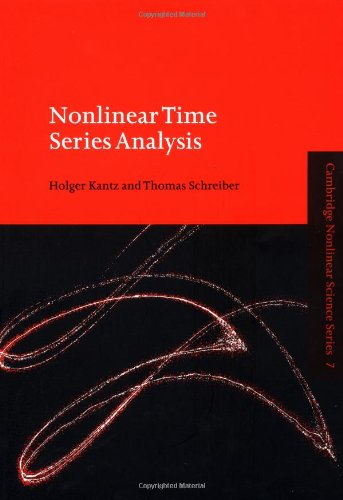 9780521653879: Nonlinear Time Series Analysis (Cambridge Nonlinear Science Series)
