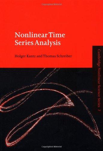 9780521653879: Nonlinear Time Series Analysis