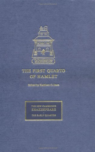 9780521653909: The First Quarto of Hamlet (The New Cambridge Shakespeare: The Early Quartos)