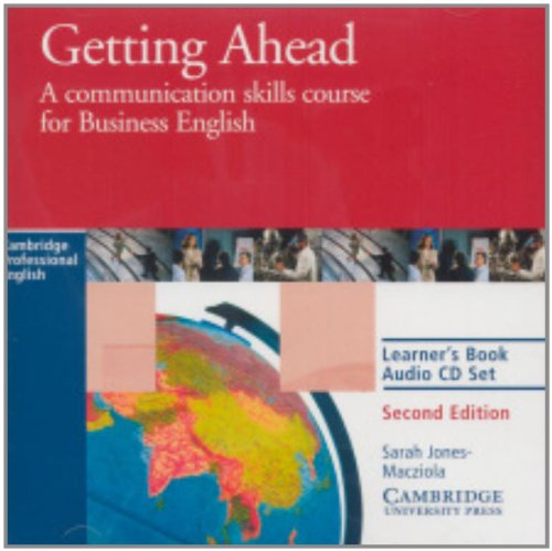 9780521654029: Getting Ahead Learner's Audio CD: A Communication Skills Course for Business English (Cambridge Professional English)