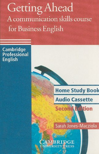 9780521654043: Getting Ahead Home Study Audio Cassette: A Communication Skills Course for Business English (Cambridge Professional English)