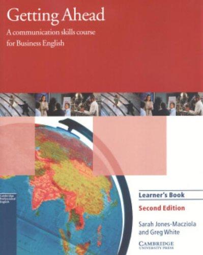 9780521654074: Getting ahead. Student's book. Per gli Ist. tecnici e professionali