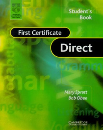 9780521654166: First Certificate Direct Student's Book