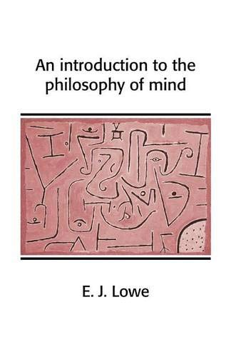 9780521654289: An Introduction to the Philosophy of Mind (Cambridge Introductions to Philosophy)
