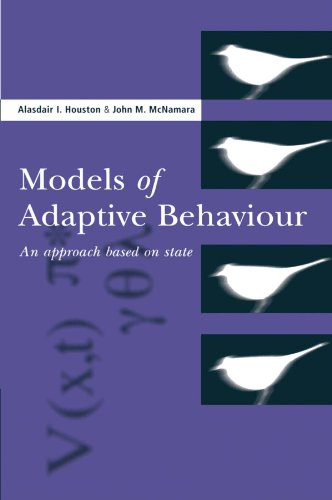 9780521655392: Models of Adaptive Behaviour: An Approach Based on State (Cambridge Studies in Mathematical Biology)