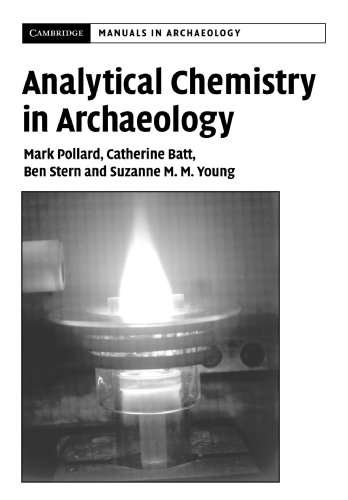 9780521655729: Analytical Chemistry in Archaeology (Cambridge Manuals in Archaeology)
