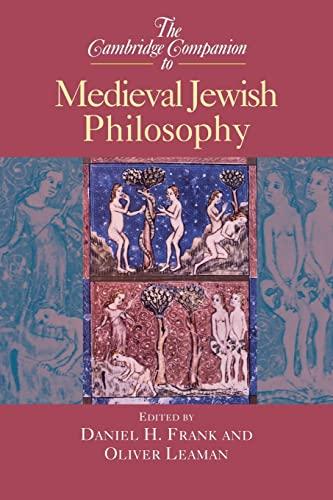 9780521655743: The Cambridge Companion to Medieval Jewish Philosophy (Cambridge Companions to Philosophy)