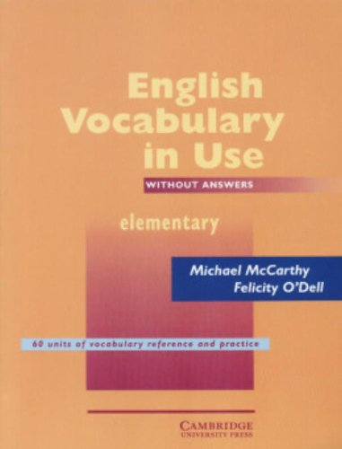 9780521656252: English Vocabulary in Use Elementary: Without answers edition