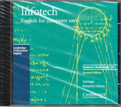 9780521657174: Infotech Audio CD: English for Computer Users