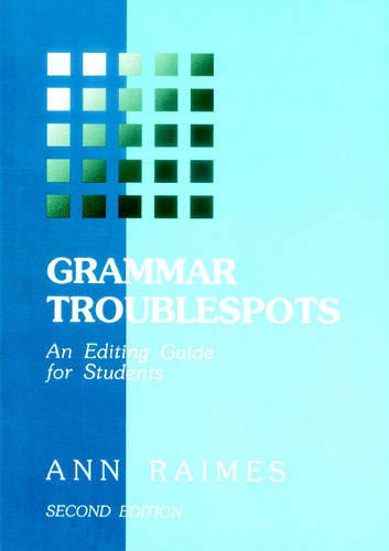 9780521657594: Grammar Troublespots: An Editing Guide for Students